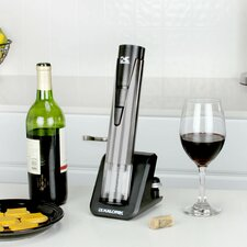 2-in-1 Stainless Steel Wine Opener & Preserver