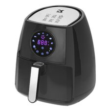 Black Digital Airfryer with Dual Layer Rack