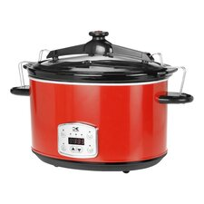 8-Quart Digital Slow Cooker with Locking Lid
