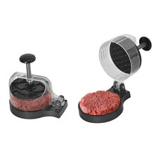 Stainless Steel Electric Meat Grinder with Burger Press