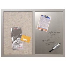 Combo 2' H x 2' W Wall Mounted Bulletin Board