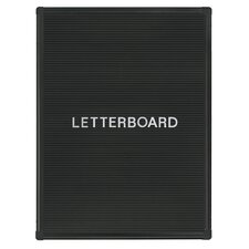 Wall Mounted Letter Board, 2' H x 2' W