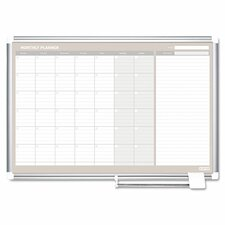 Monthly Planner Wall Mounted Magnetic Whiteboard