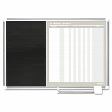Combo Wall Mounted Magnetic Combination Boards