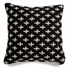 Mima Cross Stitch Wool Throw Pillow