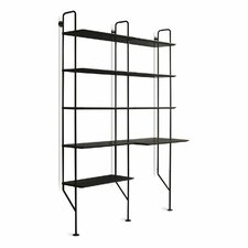 """Hitch 72.7"""" Etagere Bookcase"""
