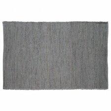 Last Newspaper Grey Area Rug