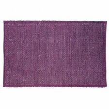 Last Newspaper Purple Area Rug