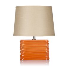 """Spin Blush 20"""" H Table Lamp with Empire Shade"""