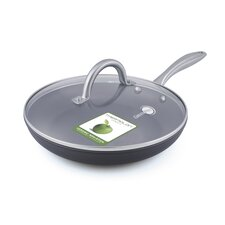 """Lima 12"""" Non-Stick Frying Pan with Lid"""