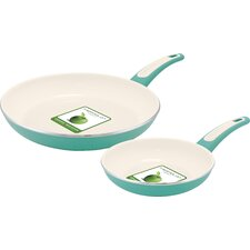 Focus 2 Piece Non-Stick Frying Pan Set