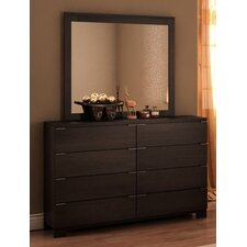 Grandview 8 Drawer Dresser with Mirror
