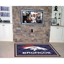 NFL - Denver Broncos 4x6 Rug