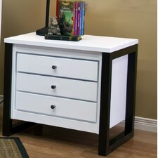 Greenwich 3 Drawer Nightstand