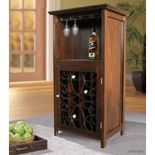 20 Bottle Floor Wine Cabinet