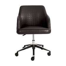 Busch Checkered Mid-Back Swivel Office Chair