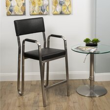 "Koppa 26"" Bar Stool with Cushion"