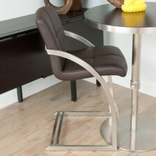 "Vedo 26"" Bar Stool with Cushion"