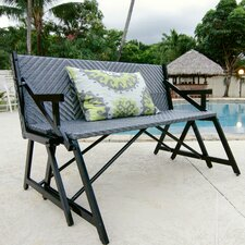 Vero Grey Outdoor Convertible Bench / Picnic Table