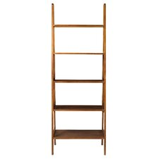 "5-Shelf 72"" Ladder Bookcase"