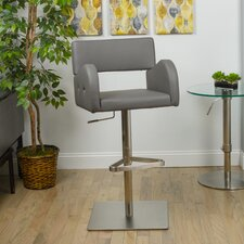 Noma Adjustable Height Swivel Bar Stool