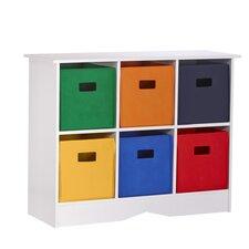 RiverRidge Kids 6 Compartment Storage Cabinet Cubby