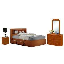 Platform 4 Piece Bedroom Set