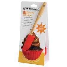 Tools and Accessories 12-Piece Baking Cup Set with Spreader
