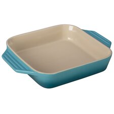 Stoneware 2.2-qt. Square Dish