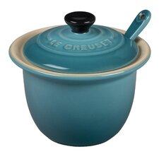 4 Oz. Condiment Pot with Spoon