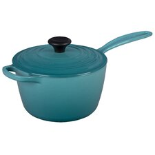 Cast Iron Precision Pour Saucepan with Lid