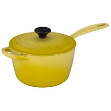 Cast Iron Precision Pour Saucepan with Lid