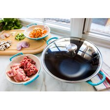 """Signature 16.5"""" Wok with Lid"""