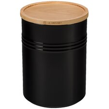 22 Oz. Canister with Wood Lid