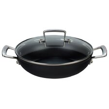 Toughened Nonstick Braiser with Lid
