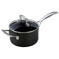 Toughened Nonstick Saucepan with Lid