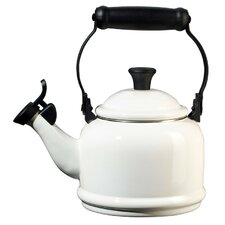 Enamel On Steel 1.25 Qt. Demi Tea Kettle