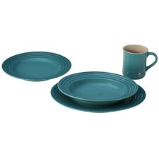 Stoneware 4-Piece Place Setting