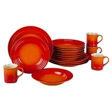 Stoneware 16 Piece Dinnerware Set