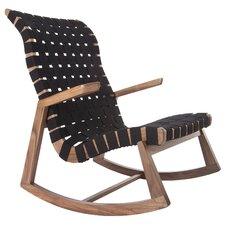Highback Greenbelt with Arms Rocking Chair