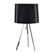 "Victoria 27"" H Table Lamp with Drum Shade"
