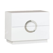 Eddy 2 Drawer Nightstand