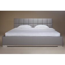 William Upholstered Panel Bed