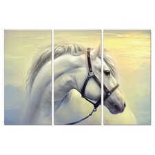 Stallion 3 Pieces Graphic Art Set