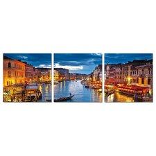 Venezia 3 Piece Photographic Print Set
