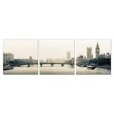 Westminster 3 Piece Photographic Print Set