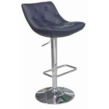 Cindy Adjustable Height Swivel Bar Stool with Cushion