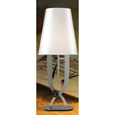 "Claudia 25"" H Table Lamp with Empire Shade"