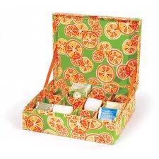Kitchen Cucina Citrus Tea Box