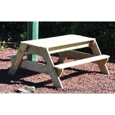 Childrens Picnic Table and Sand Pit Set
